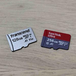 Switchに挿しているmicroSDカードを新しいものに移行する