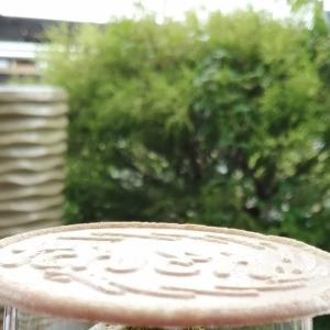 陽春園の「苔パフェ」を食べてきた。わび・さびを感じさせる純和風パフェでした。