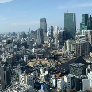 人生初の東京。田舎者の僕は、何度もビルを見上げて開いた口がふさがらなかった。