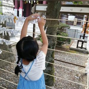 八幡八雲神社で半年越しの初詣と都まんじゅう
