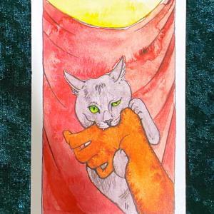 【正義】猫のタロット 今週の一枚