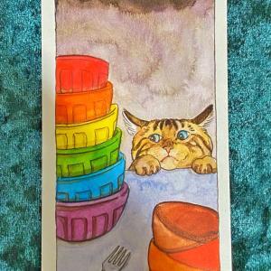 【カップ10】猫のタロット 今週の一枚