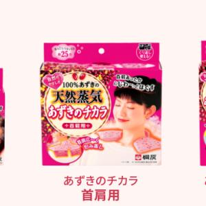 過去の作品紹介(7)小豆カイロ
