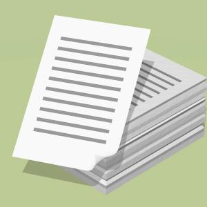 紙類 の整理