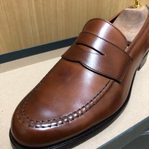 【茶靴は難しいが面白い】Crockett&Jones HARVARD 2 1か月エイジング記録