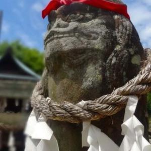 2015年6月20日に岩国に日帰りでプチ旅行に行ってきましたその3。椎尾八幡宮をじっくりと参拝。
