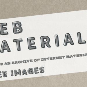 【素材】ボーダー柄と、ポップなキラキラのワンポイントのホームページ壁紙素材です。