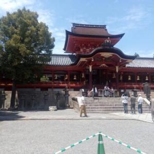 勅祭社巡り 石清水八幡宮 (関西2日目)