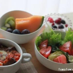 焼きカレー サラダ♪