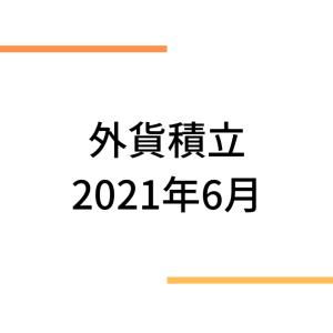 住信sbiネット銀行外貨積立(2021年6月)
