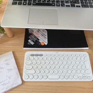 スマホやタブレットで文章入力が簡単になる!ワイヤレスキーボード
