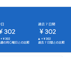 悲願:ブログ初心者の大きな一歩、Googleアドセンスが0円→302円になった話