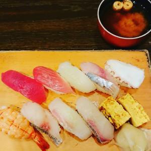 「にぎり寿司ランチ」