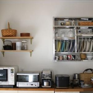 間違い探しレベルのキッチン背面収納の変化
