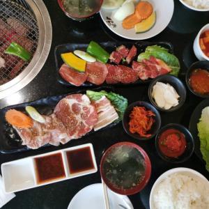 【焼肉・冷麺ヤマト】ランチタイム190Bのトンローの焼肉屋