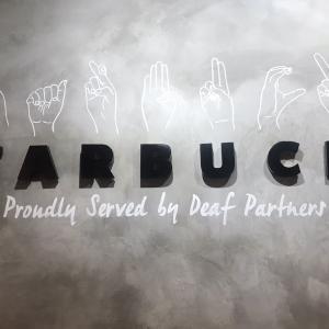 マレーシア 聴覚障害者の方が働く〖世界一静かなスタバ Starbucks Signing Store〗