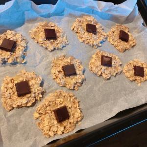 今日の夜ご飯とオートミールのクッキー作りにハマる