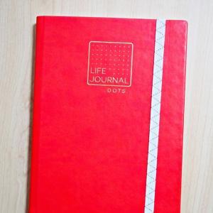 クオバディス ライフジャーナルで手書きノート習慣を始めました【和気文具の名入れも】