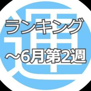 D・Aランキング【~6月第2週】(日本株個別銘柄)