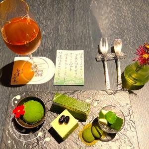京都祇園 北川半兵衛 抹茶づくし&お茶飲み比べ