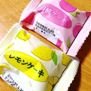 DAISOの人気スイーツ、レモンケーキと白桃ケーキを買ってみた🍰