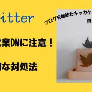 【詐欺?】Twitterの勧誘DMへの適切な対処法【実例】