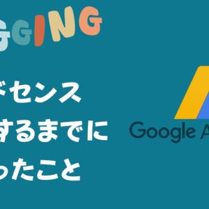【2021】ブログ初心者がGoogle AdSenseに合格するまでにやったこと