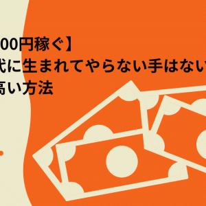 【すぐに500円稼ぐ】ネット時代に生まれてやらない手はない再現性の高い方法