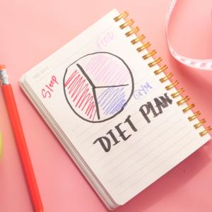 ずぼらアラフォーのダイエット。健康に痩せる4群点数法。6ヶ月継続して。