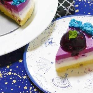 ブルーベリーチーズケーキ【その1】
