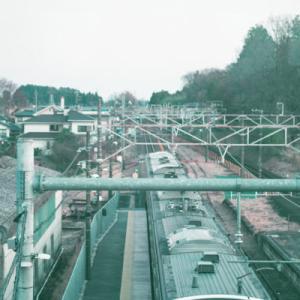 【カメラとカブ】仕事帰りに栃木県のJR片岡駅、普段の通勤路の踏切を撮りに行ってきたお話