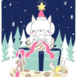 こくぼのクリスマスカード
