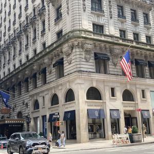 ニューヨーク5番街を散策。キング・オブ・ダイヤモンド「ハリー・ウィンストン」の本店へ結婚指輪を購入へ行った結果・・・