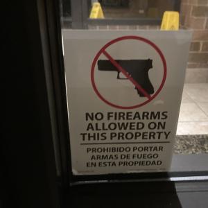 アメリカのホテルに銃の持ち込みは可能かどうか?