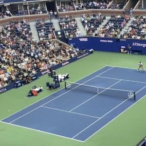 【全米オープンテニス】錦織圭vsノバク・ジョコビッチを観戦!大熱戦の試合!