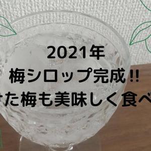 2021年【梅シロップ】美味しく完成‼残った梅を干してみました!