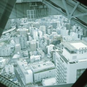 大阪梅田スカイビルをフィルムで撮る