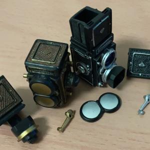 週刊グリコタイムスリップ 二眼レフミニフィギュア「Rollei ローライフレックス 3.5F (プラナー)」を購入してみた。