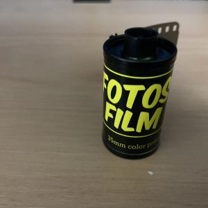 【フィルム作例&撮影レビュー】FOTOS FILM 400 35MM COLOR PRINT FILM【黄色いパッケージの不思議なフィルム】