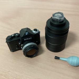 週刊グリコタイムスリップ 一眼レフ ミニフィギュア「NikonF Black」を購入してみた。
