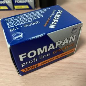 【フィルム作例】白黒フィルム Fomapan・フォマパン 200 Creative 【チェコ製のモノクロフィルム】