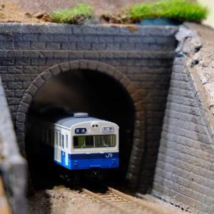 前面2枚窓仙石線103系(鉄道コレクション)