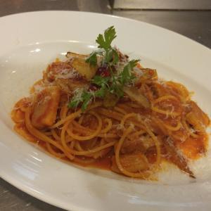 トマトソーススパゲティのポイント