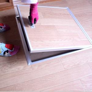 DIYで元和室を8畳の水槽部屋にするためクッションフロアーを敷いた!