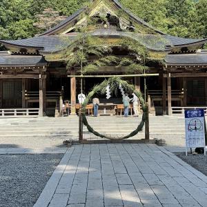 新潟神社めぐり 弥彦神社 茅の輪くぐり