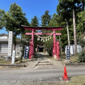 新潟神社めぐり 1泊2日の旅(1日目) 物部神社・多岐神社(柏崎市)