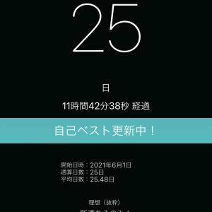 断酒26日目