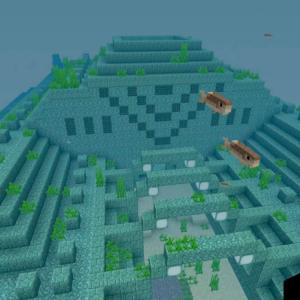 ついに探索 海底神殿