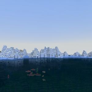 物見遊山で氷の世界