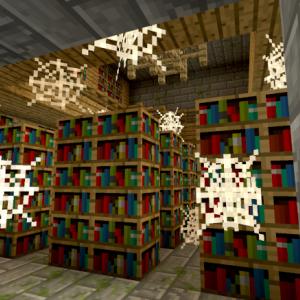 要塞を走れば図書館に当たるよ